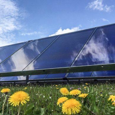 Savo-Solarin aurinkokeräimet ovat saavuttaneet Jelling Varmevaerkin laitoksella ennätyksellisen 5 kWh/m2:n tehon