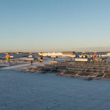Naps Solar Systems rakensi 500 kWp aurinkovoimalan joulukuussa kolmessa viikossa