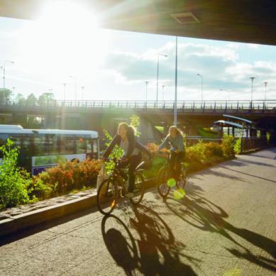 Kohti pyöräilymetropolia – koskaan ei ole liian myöhäistä aloittaa