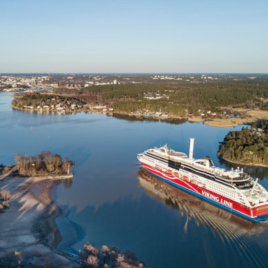 Roottoripurje antaa vauhtia Viking Linen lippulaivalle