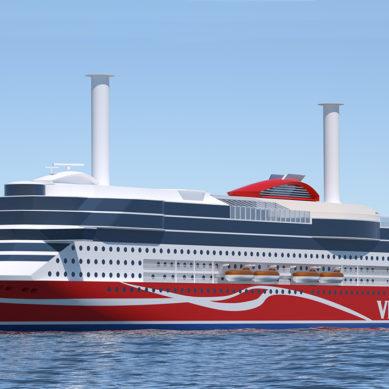 Uusinta energiatehokkuutta Viking Linen uuden sukupolven risteilijään