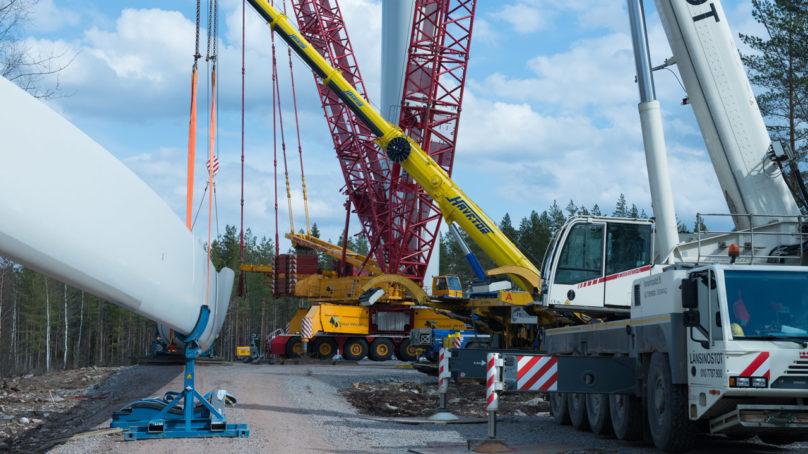 Tuulivoima työllistää kymmeniä tuhansia Suomessa