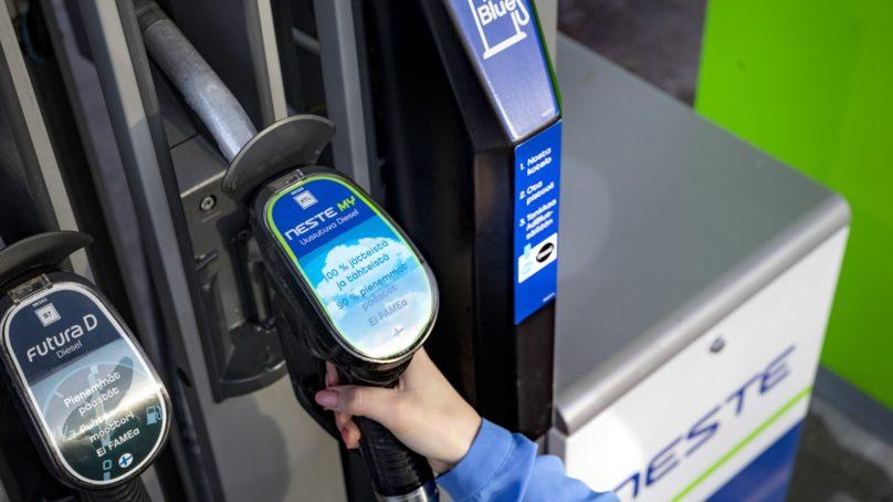 Uusiutuvaa dieseliä saa nyt myös Mikkelistä