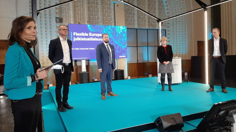 Siemens esitteli Flexible Europe -ekosysteemin
